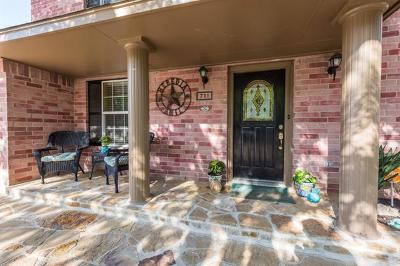 Travis County, Williamson County Single Family Home For Sale: 711 Elder Way
