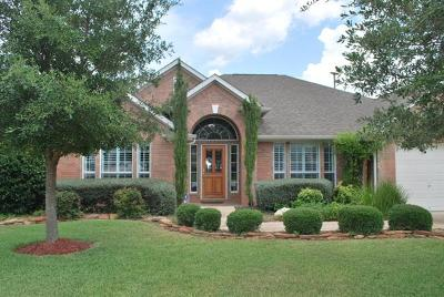 Cedar Park Single Family Home For Sale: 1700 Nelson Ranch Loop