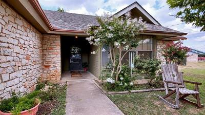 Georgetown Single Family Home Pending - Taking Backups: 50303 Indian Creek Dr