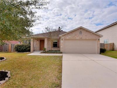Kyle Single Family Home For Sale: 220 Mistletoe Ln