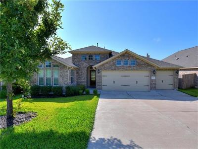 Round Rock Single Family Home For Sale: 1819 Greyleaf Path