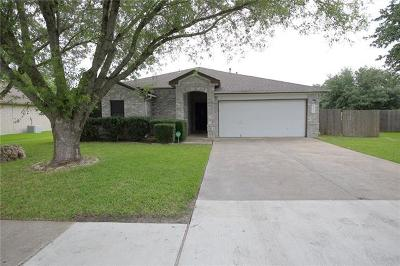 Round Rock TX Single Family Home For Sale: $249,900