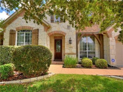 Round Rock Single Family Home For Sale: 1021 Hidden Glen Dr