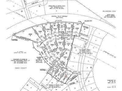 Leander Residential Lots & Land For Sale: 2321 Quarry Loop