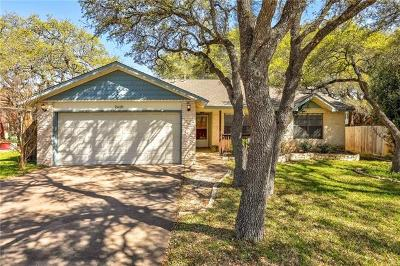 Leander Single Family Home Pending - Taking Backups: 2618 N Walker Dr