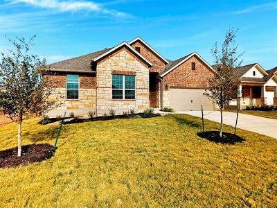 Round Rock Single Family Home For Sale: 3312 Amerigo Pl
