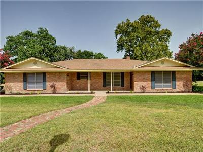 Temple Single Family Home For Sale: 7012 Boutwell Ln E