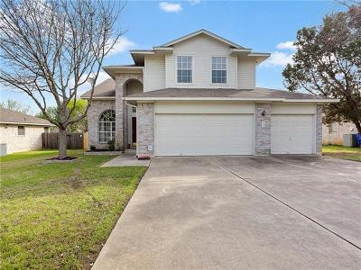 Cedar Park Single Family Home For Sale: 1802 Timberwood Dr