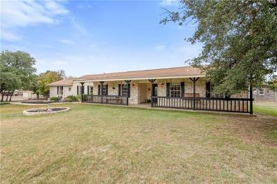 Round Rock TX Single Family Home For Sale: $850,000