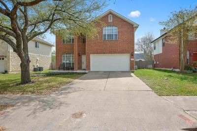 Round Rock Single Family Home For Sale: 1902 Balsam Way