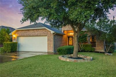 Hutto Single Family Home For Sale: 116 Aguilar Dr