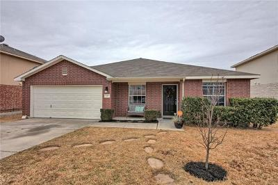 Hutto Single Family Home Active Contingent: 221 Holman Path