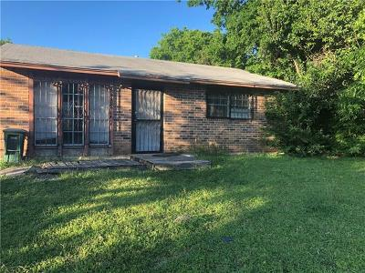 Hays County, Travis County, Williamson County Single Family Home Pending - Taking Backups: 6010 Bluebell Cir