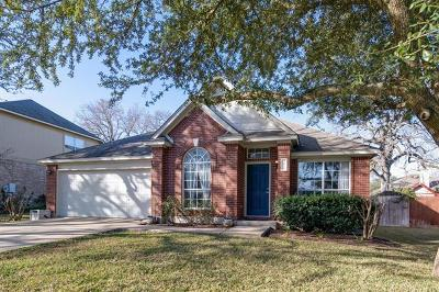 Cedar Park Single Family Home For Sale: 2809 Oakwood Glen Dr