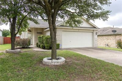 Round Rock Single Family Home For Sale: 17309 Valentine Dr