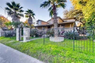 Austin Single Family Home For Sale: 1202 Bouldin Ave
