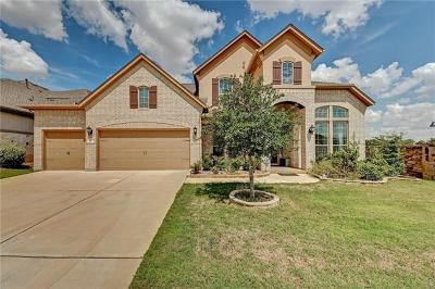 Round Rock Single Family Home For Sale: 2732 Mazaro Way