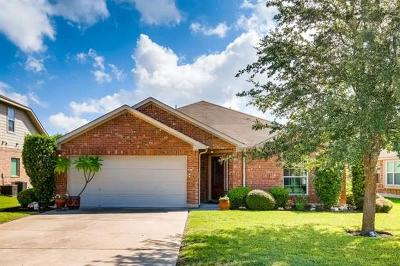 Hutto Single Family Home For Sale: 126 Inman Dr