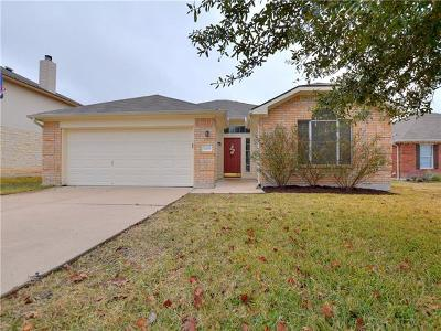 Hutto Single Family Home Pending - Taking Backups: 3009 Hanstrom Ct