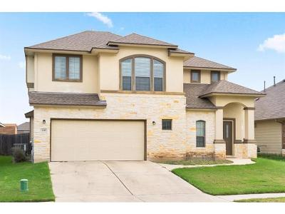 San Marcos Single Family Home For Sale: 130 Old Settlers Dr