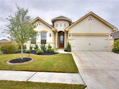 Round Rock Single Family Home For Sale: 4955 Fiore Trl