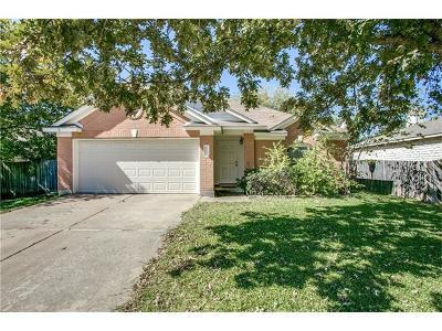 Cedar Park Single Family Home Pending - Taking Backups: 2201 Brittway Ln