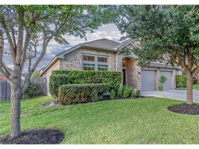 Hutto Single Family Home For Sale: 1112 Whitemoss Dr