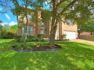 Hays County, Travis County, Williamson County Single Family Home For Sale: 11104 Pebble Garden Ln
