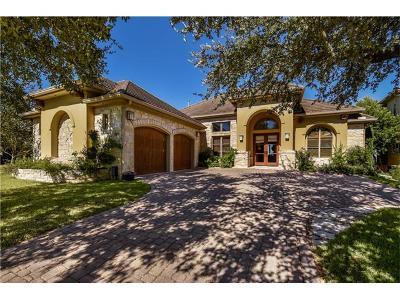 Single Family Home For Sale: 2300 Barton Creek Blvd #20