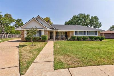 Austin Single Family Home Pending - Taking Backups: 5106 Wagon Hitch Cv