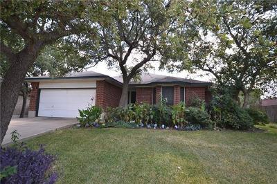 Cedar Park Rental For Rent: 1302 Wood Creek Dr