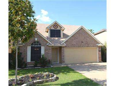 Round Rock Single Family Home Active Contingent: 1302 Green Terrace Dr