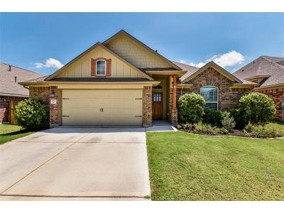 Round Rock Single Family Home For Sale: 2713 Marshall Trl