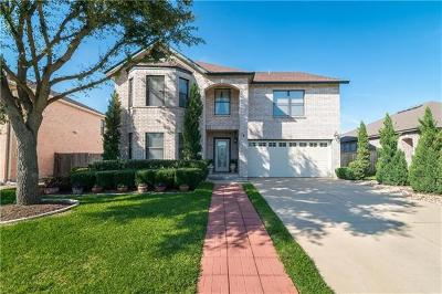 Cedar Park Single Family Home For Sale: 1110 Van Horn Way