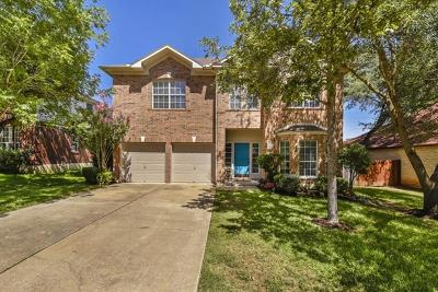 Cedar Park Single Family Home For Sale: 1803 Azalea Dr