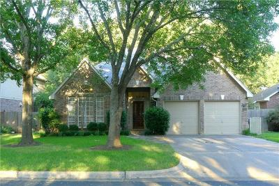 Austin Single Family Home Pending - Taking Backups: 7903 Richard King Trl