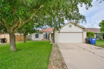 Hutto Single Family Home Pending - Taking Backups: 305 Willowbrook Dr