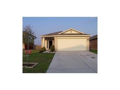 Manor Single Family Home For Sale: 13314 James Monroe St