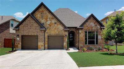 Leander Single Family Home For Sale: 3024 Lyme Ridge Dr