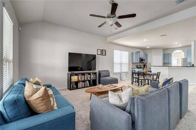 Buda Single Family Home For Sale: 247 Travertine Trl