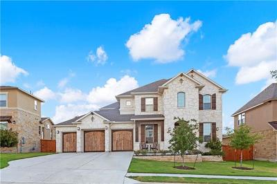 Cedar Park Single Family Home Pending - Taking Backups: 3906 Logan Ridge Dr