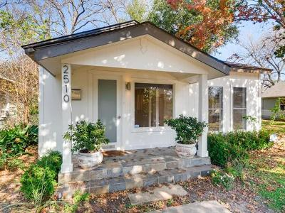 Austin Single Family Home For Sale: 2510 E 3rd St