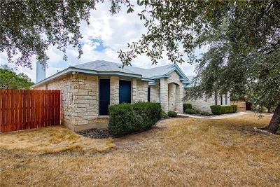 Lago Vista Single Family Home For Sale: 4205 Hillside Dr