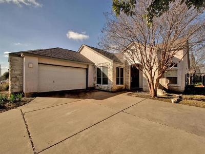 Round Rock Single Family Home For Sale: 2608 Hill Street Cv