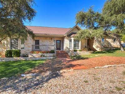 Lago Vista Single Family Home For Sale: 20638 Highland Lake Dr