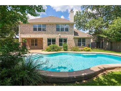 Austin Single Family Home Active Contingent: 3217 Summer Canyon Dr