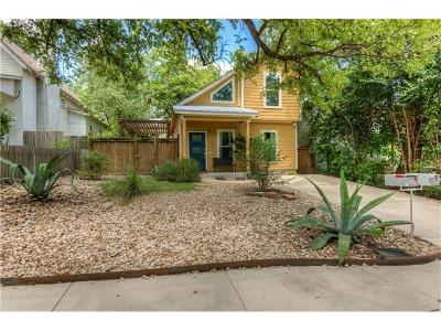 Travis County, Williamson County Single Family Home For Sale: 2206 E 9th St #A