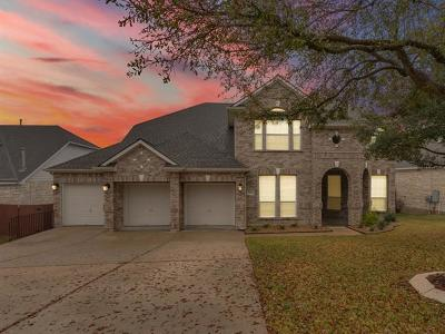 Travis County, Williamson County Single Family Home Pending - Taking Backups: 2605 Corabella Pl