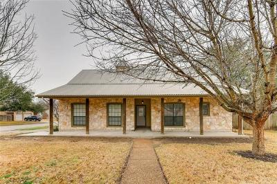 Pflugerville Single Family Home Active Contingent: 601 Jill Sue Cir