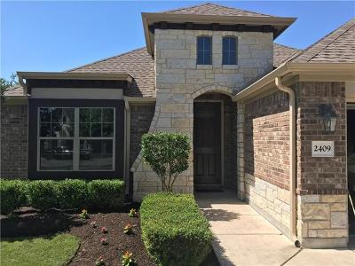 Pflugerville Single Family Home For Sale: 2409 Stonepath Way